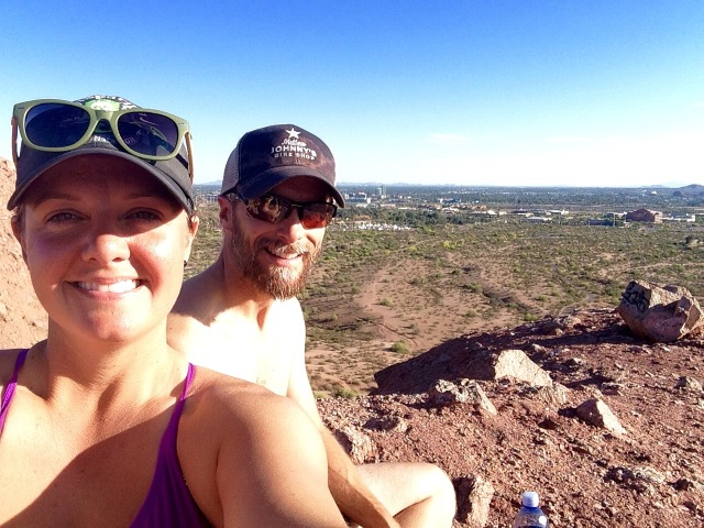 Kif & Lyd on Papago